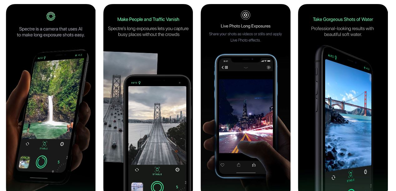 Spectre is a brilliant long exposure camera app for iPhone