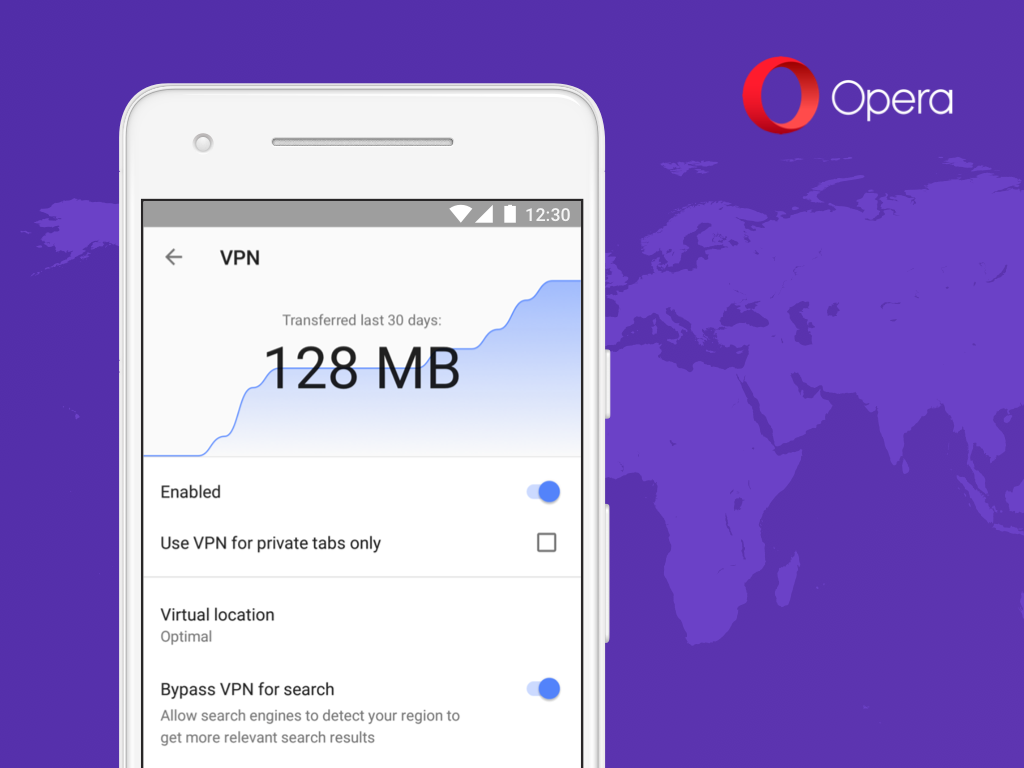 After PC, Opera brings VPN to its Android app 1