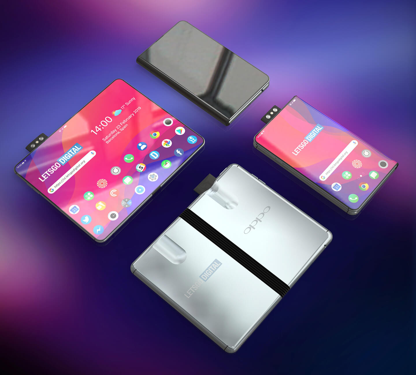 Oppo is working on its own folding phone, and it has an interesting solution for the camera 3