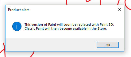 Microsoft may have given up on killing Microsoft Paint for Windows 10 2