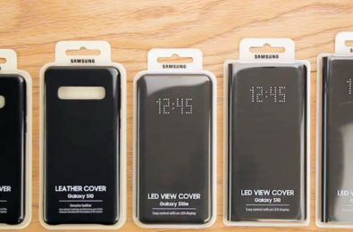 Hands-on video with the Samsung Galaxy S10 Official Covers reveal a worrying detail 14