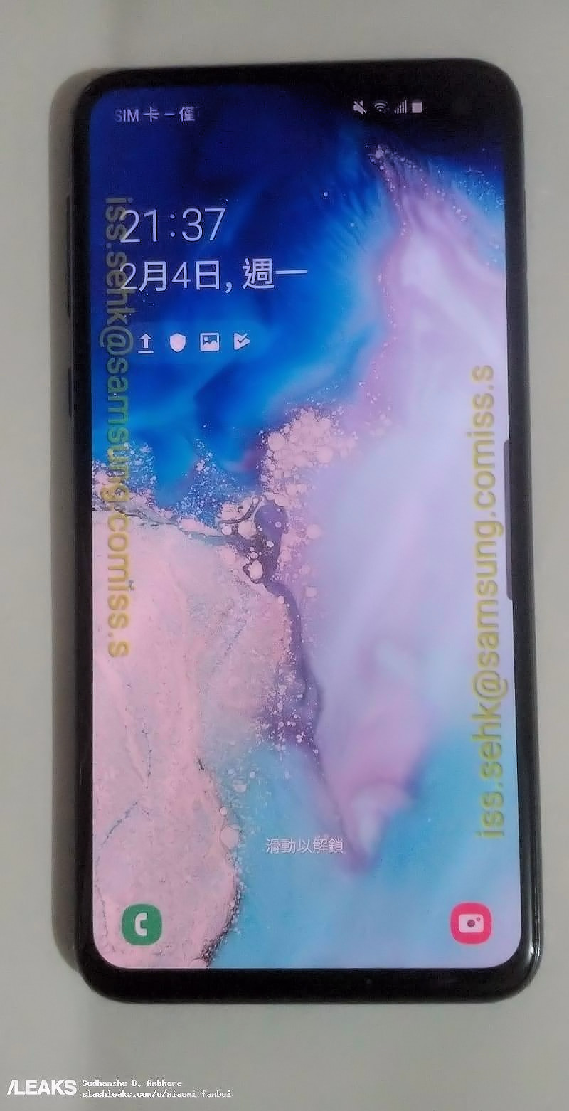 More pictures of the cool-looking Samsung Galaxy S10e leaks 6