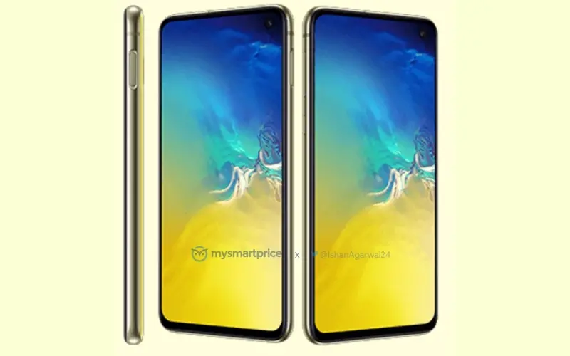 Samsung Galaxy S10e leaks in new photo and it is all yellow""