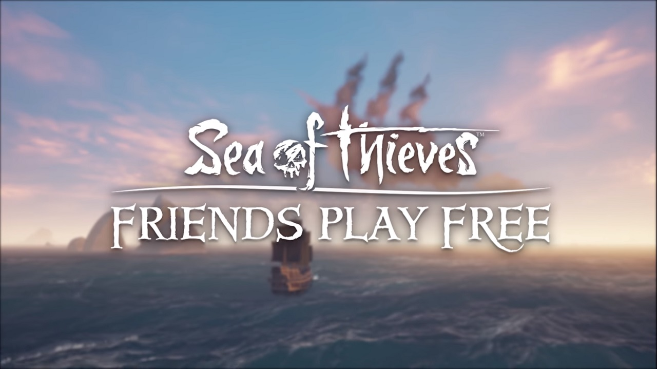 Sea of Thieves is letting three friends join you onboard this week
