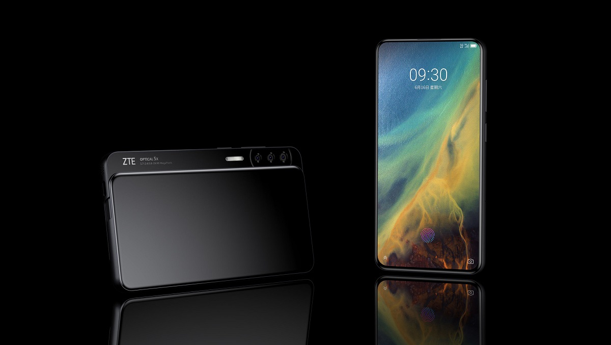 ZTE's Axon S Is the Weirdest Way to Kill a Notch Yet
