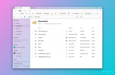 Report: 2019 will be the year Microsoft updates File Explorer with the new Fluent Design 13