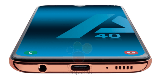 Specs of Samsung's upcoming smartphone Galaxy A40 leaks online