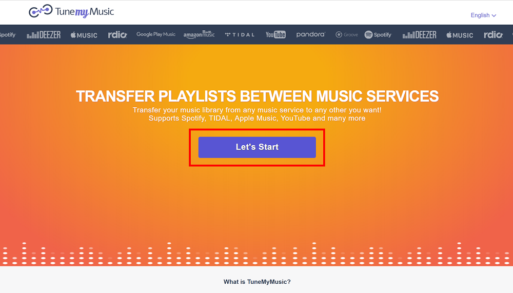 Tutorial: How migrate your playlists from one music streaming
