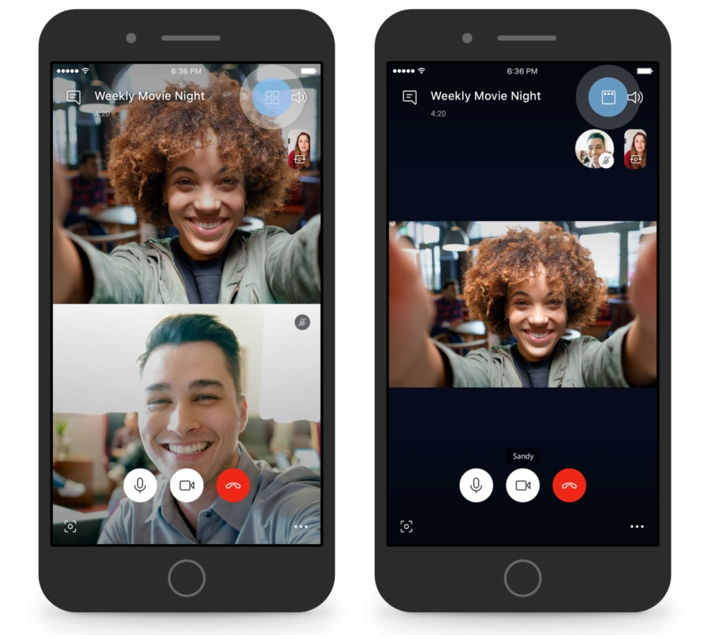 QnA VBage Skype introduces new speaker view for group calls on both mobile and desktop