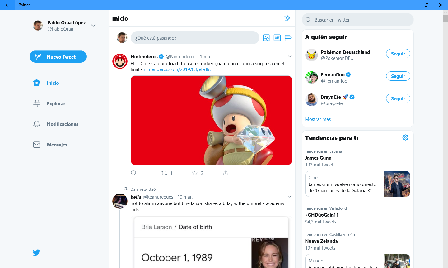 Twitter rolls out a new update for its PWA on Windows 10