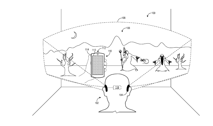 New patent sheds light on Microsoft's vision to merge Mixed Reality and smartphones 2