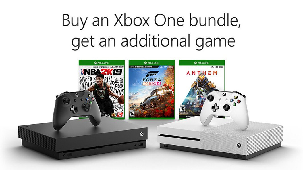 New Xbox One bundle grants buyers an additional free game