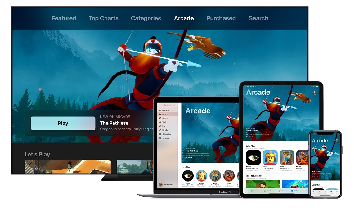 Apple spending 'hundreds of millions of dollars' for Arcade gaming service