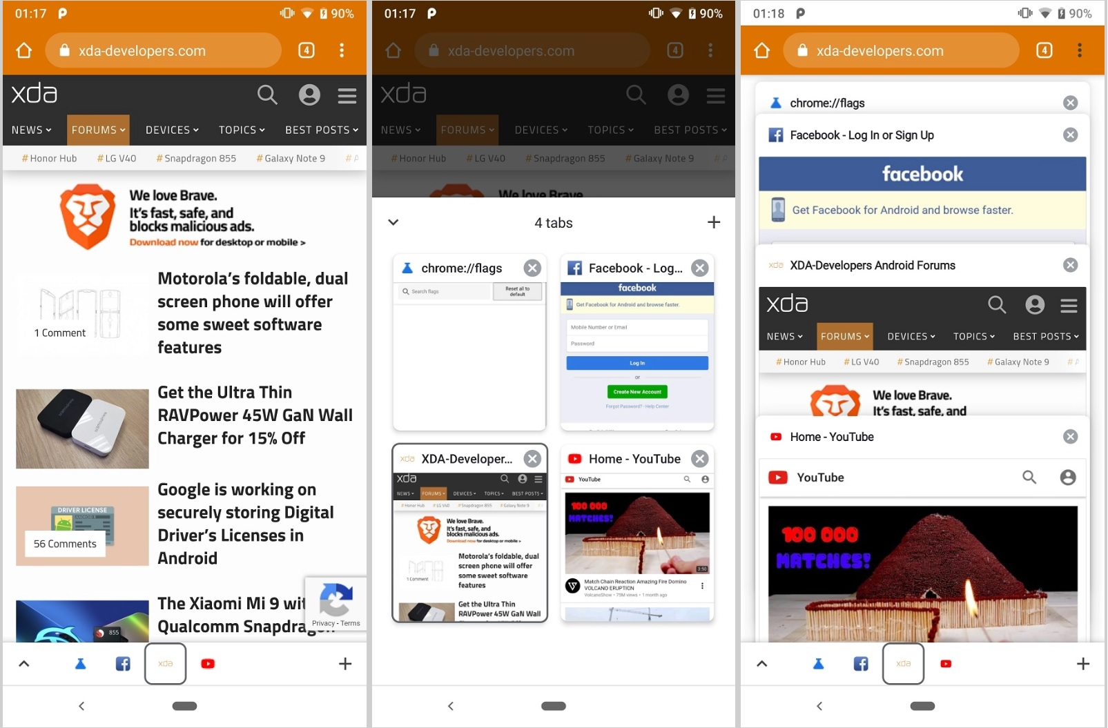 Google now lets you update your Chrome browser on Android without
