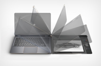 A new Compal flipping screen laptop defies logic, sense 19