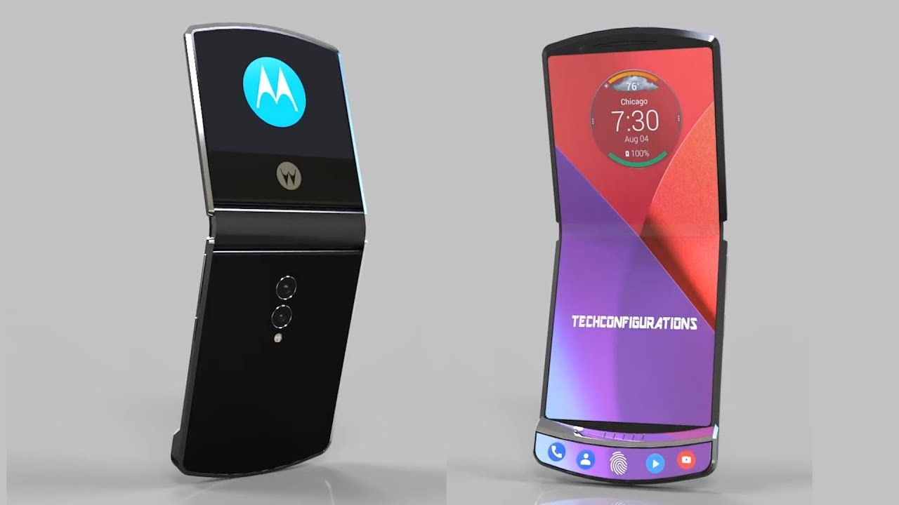 Details about how Motorola's foldable RAZR phone will work leaked