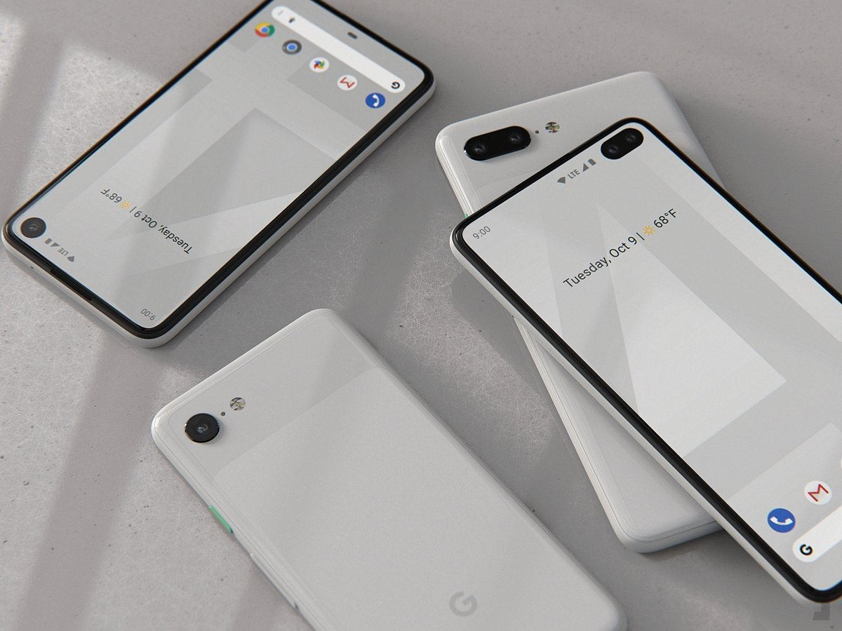 Is this what the Pixel 4 XL will look like?