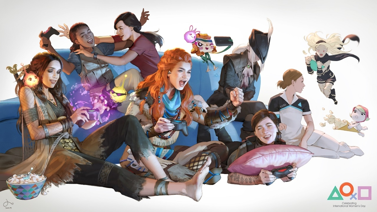 Get this lovely free PS4 theme to celebrate International Women's Day 2019