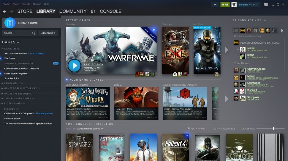 Steam is Redesigning Game Libraries, Adding New