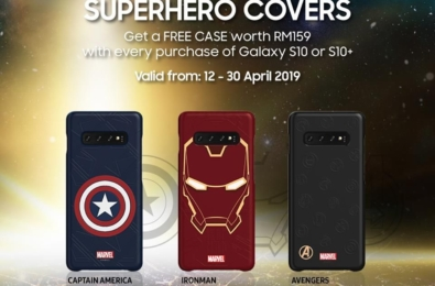 Samsung Malaysia giving away free Marvel Avengers cases with the Galaxy S10 and S10+ 2