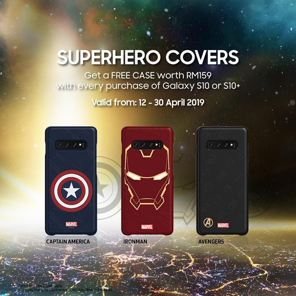 Samsung Malaysia giving away free Marvel Avengers cases with the