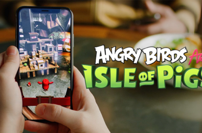 First Angry Birds mobile AR game now available for download 8