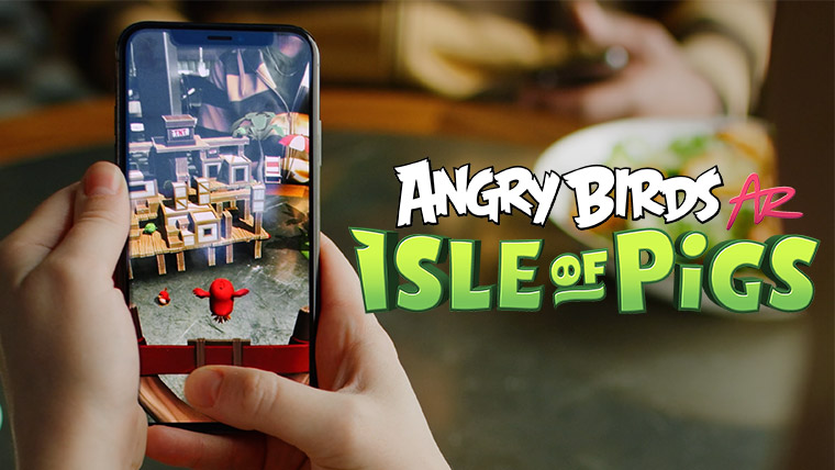 First Angry Birds mobile AR game now available for download 1