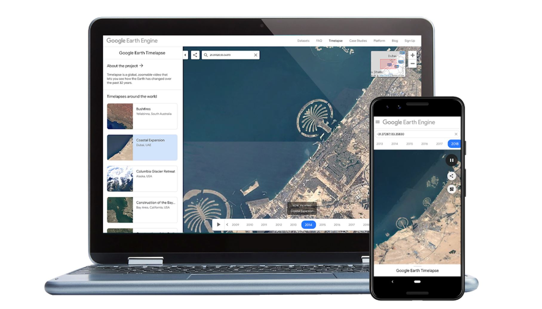 Google Earth now supports all the Chromium based browsers 1