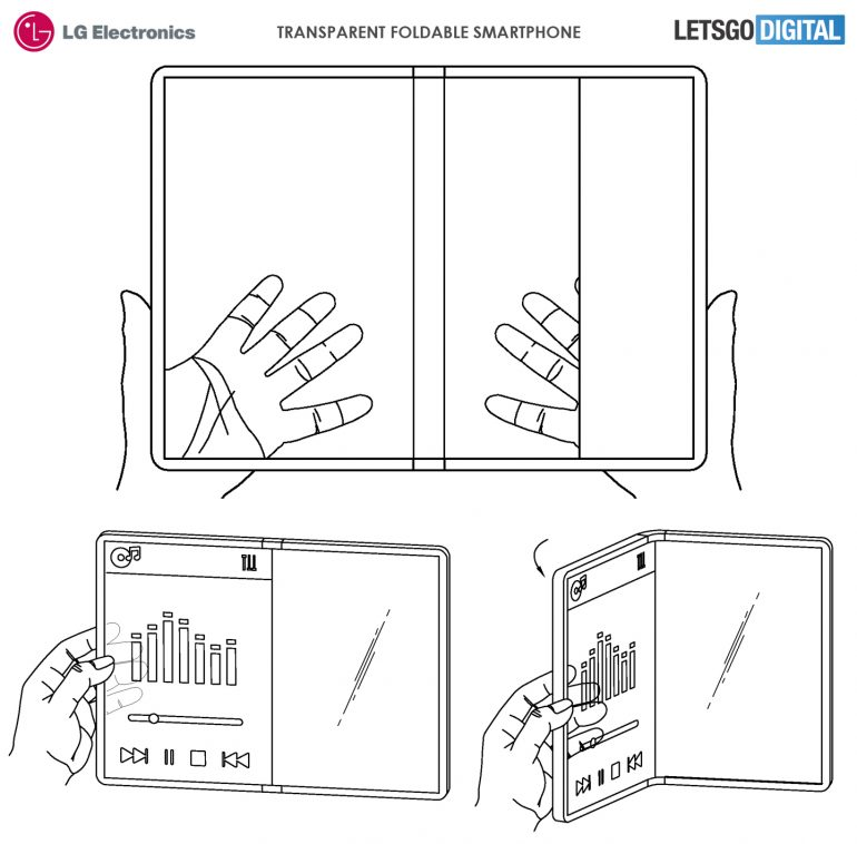 LG's folding smartphone will turn into something that you see only in science-fiction movies 1