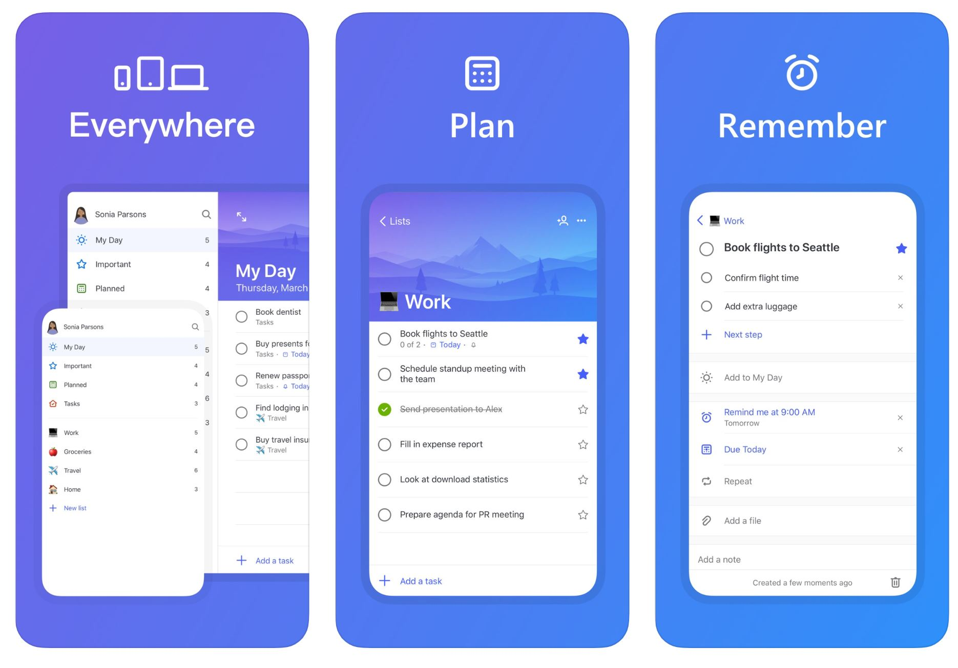 Latest Microsoft To-Do for iOS update allows you to assign tasks to