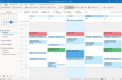 You can now schedule meetings faster and easier with new updates in Outlook for Windows 9