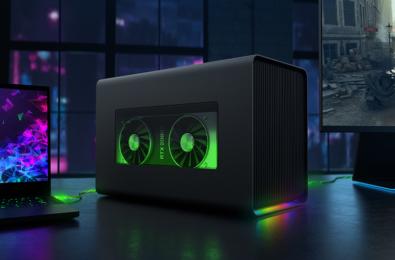 Razer announces Core X Chroma external graphics enclosure for Windows laptops 5