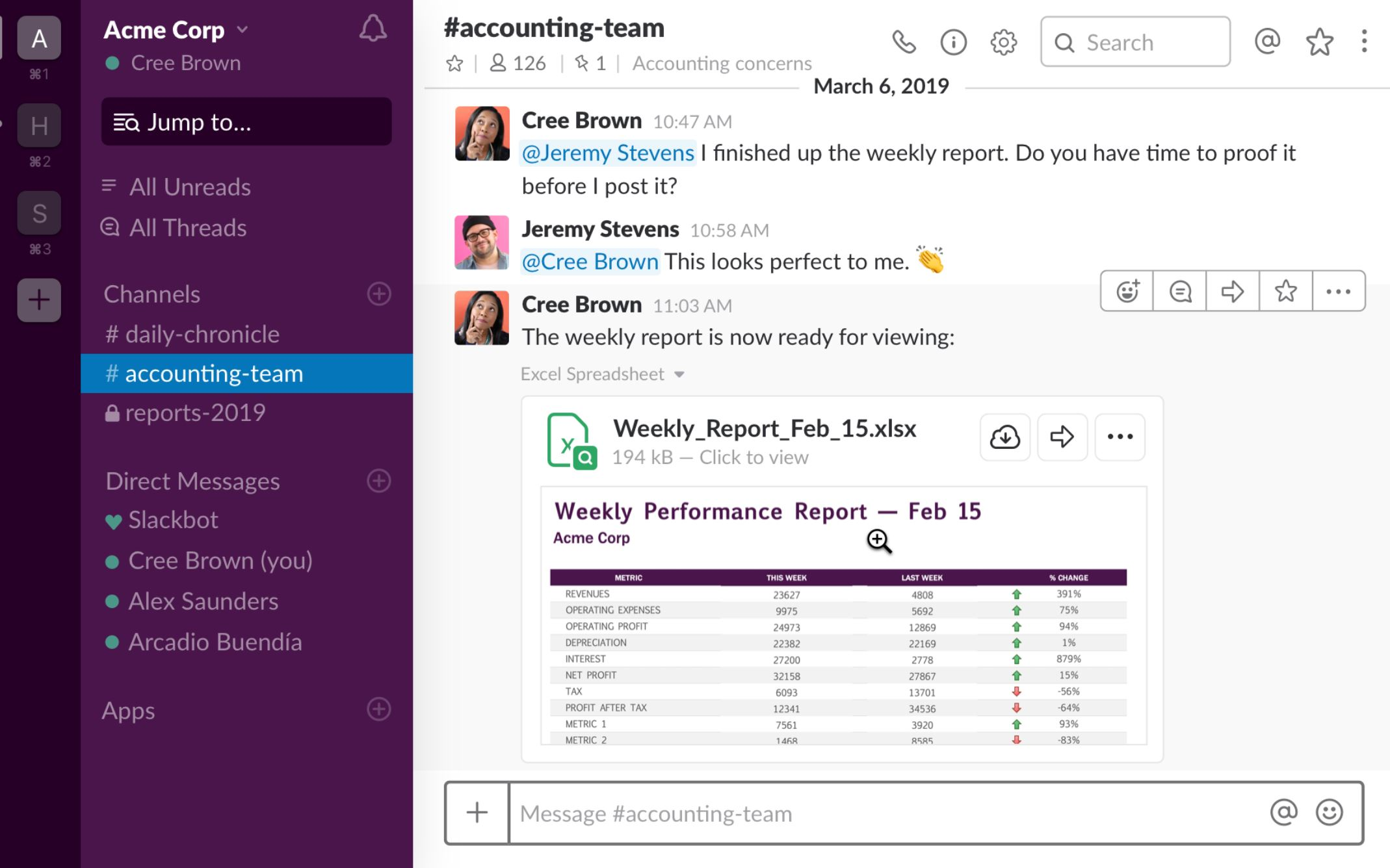 Slack announces a collection of Microsoft Office 365 apps