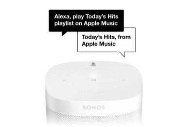 You can now use your voice to control Apple Music through your Sonos device 21
