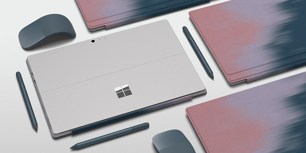 43c61c505a0 John Lewis & Partners in the UK today announced the new, beautiful 'Blush  Blend' Signature Surface Type Cover. This new Surface Type Cover will be ...