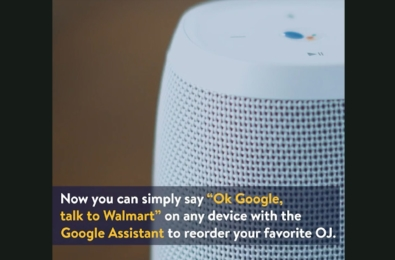 You can now order groceries from Walmart through Google Assistant 1