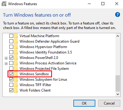 Here's how to enable and use Windows Sandbox on May 2019 Update