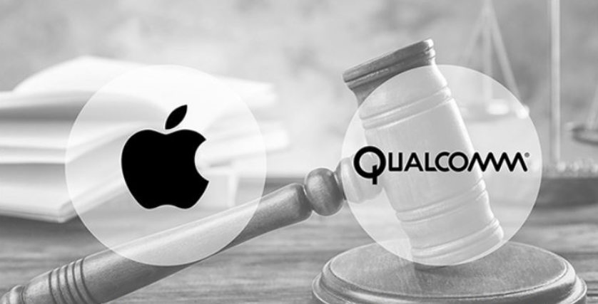 Qualcomm shares soar on surprise settlement with Apple of long legal dispute