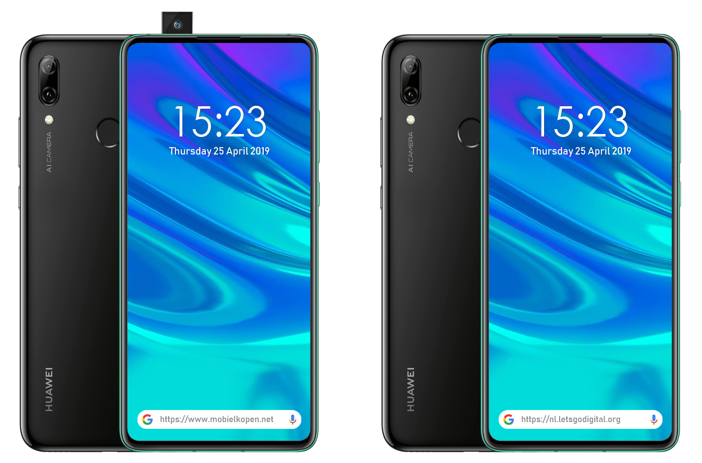 Huawei gears up to launch its first smartphone with pop-up camera