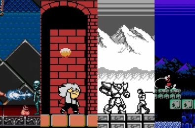 Kid Dracula goes west in the Konami Castlevania Collection 28
