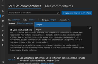 "Microsoft adds ""similar feedback"" feature to Feedback Hub 9"