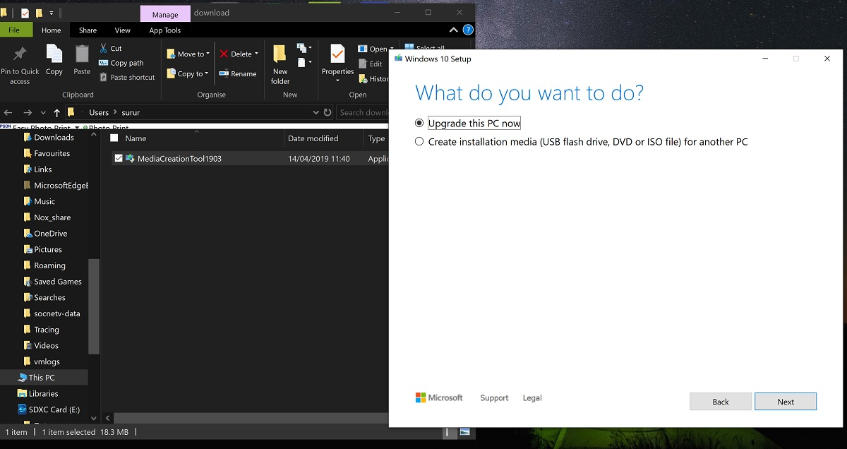 how to download windows 10 from microsoft without media creation tool