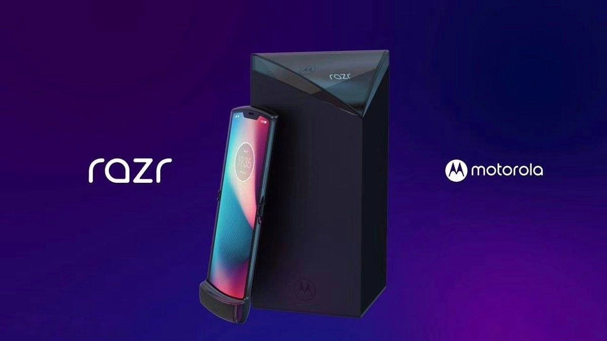 Motorola's foldable Razr revealed in leaked photos