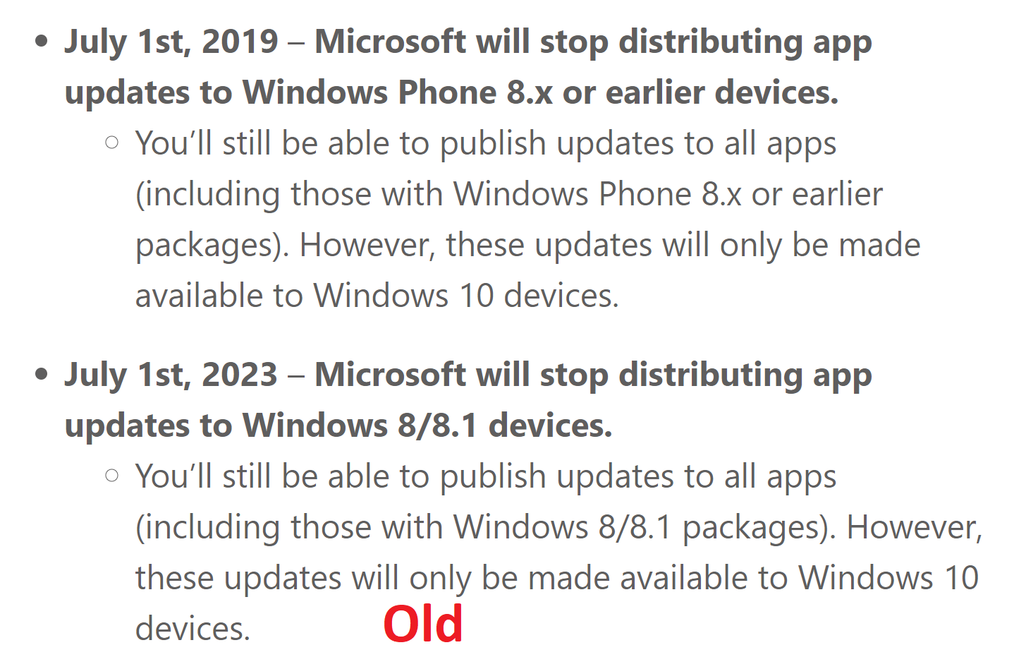 Microsoft advances the death of Windows 8 by 4 years 1