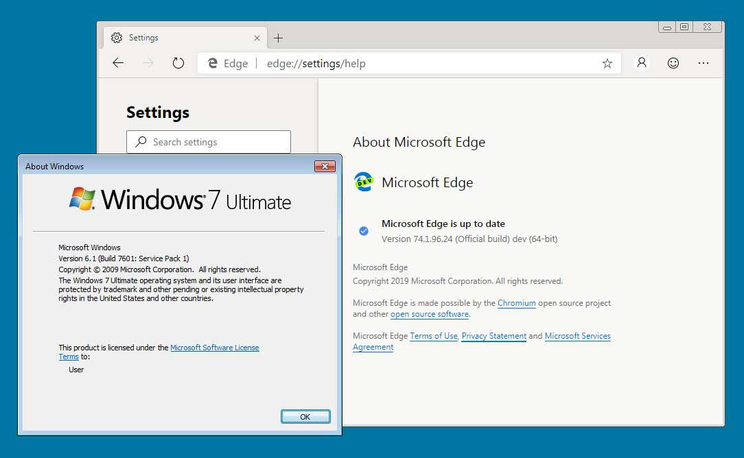 microsoft edge download 64 bit windows 7