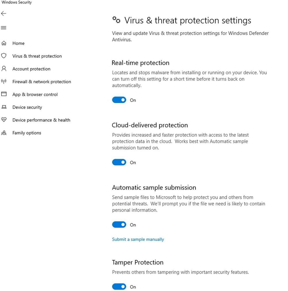 Microsoft details Tamper Protection in Windows Defender April 2019 Update 1