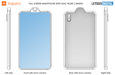 """Xiaomi takes """"think outside the box"""" quote seriously, patents a design with reverse notch 20"""