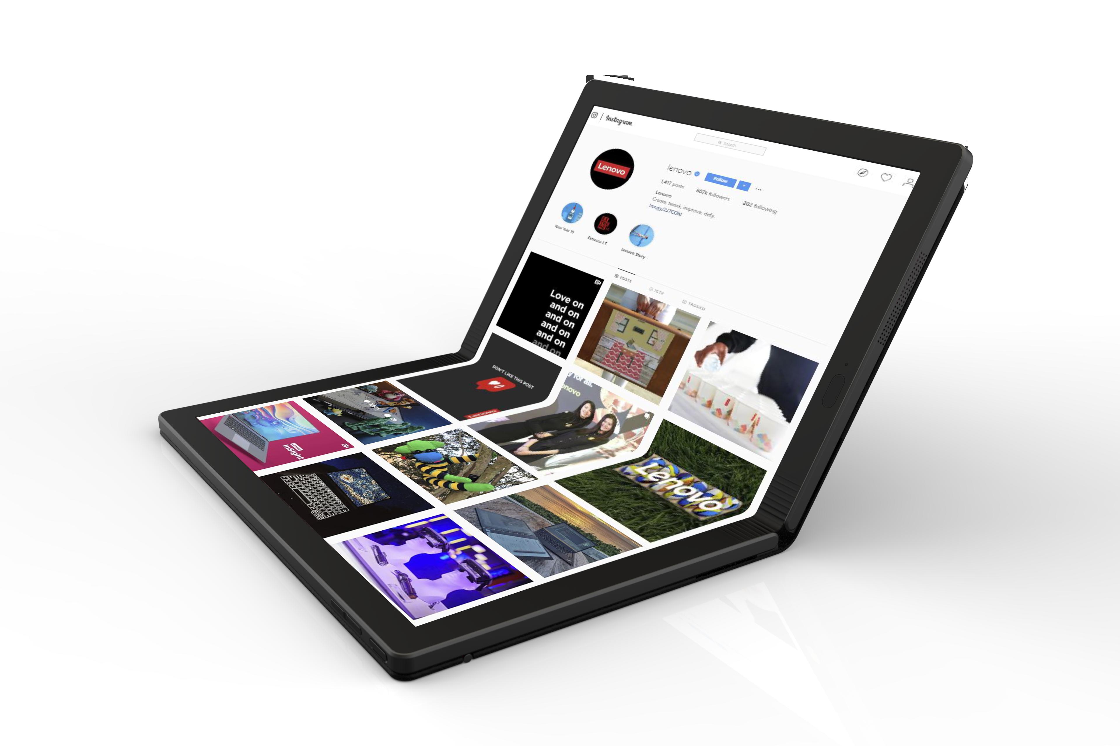 Lenovo patents two foldable Windows 10 PCs, aims to address two