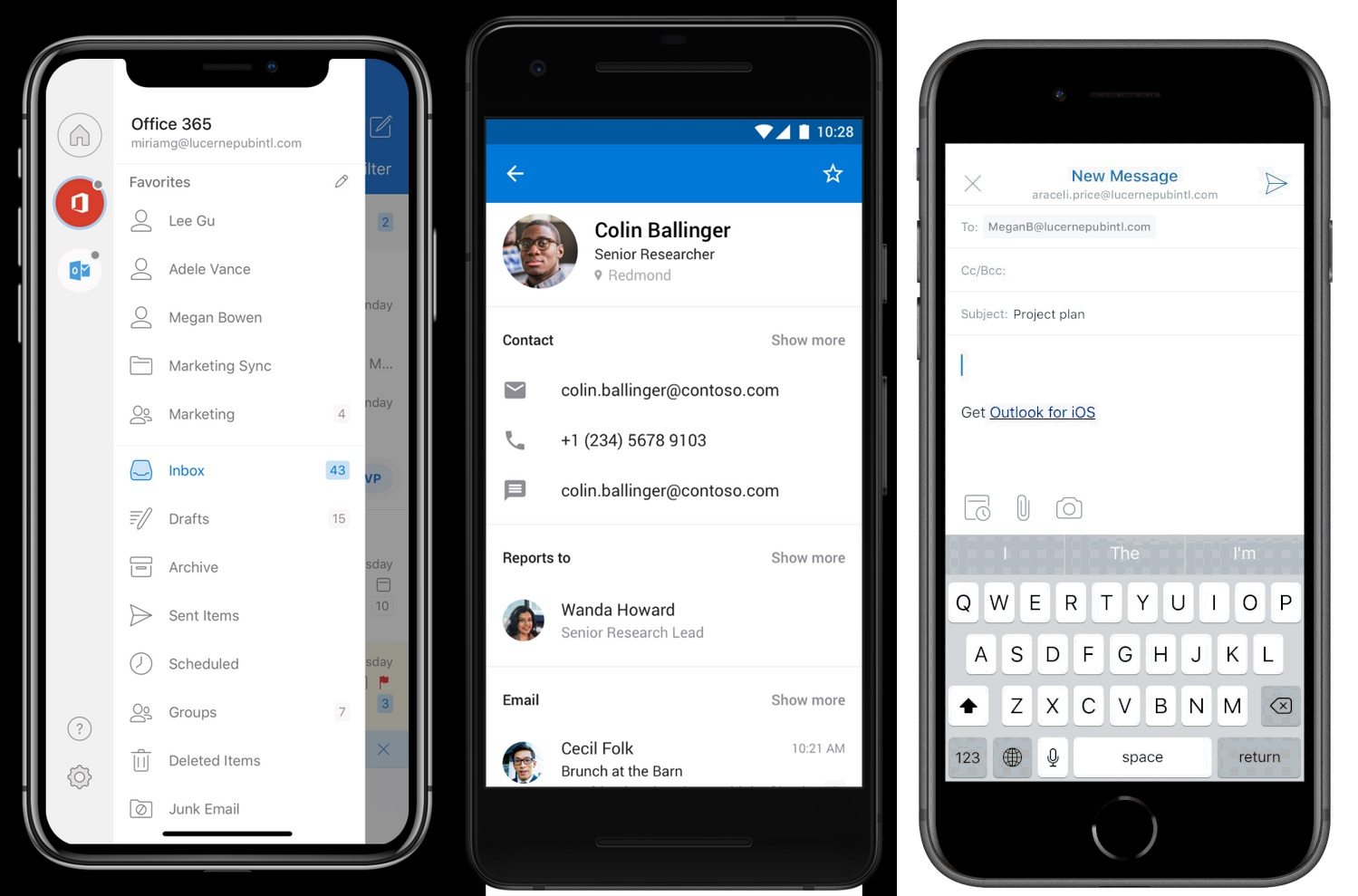 Outlook mobile for Android updated with several new features