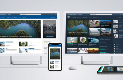 Microsoft announces SharePoint home sites, a personalized intranet solution for the enterprise 1